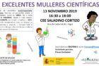 Exposición e percorrido EXCELENTES MULLERES CIENTÍFICAS