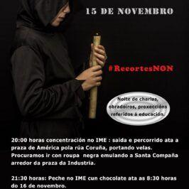 Concentración e peche en Foanpas (IME) #dereitosnonparches