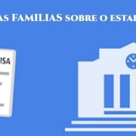 Cuestionario para as familias sobre a situación sobre o estado de alarma.