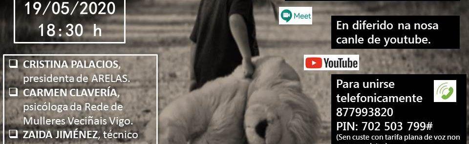 Vídeo do Webinar. As infancias vulnerables: dando voz axs invisibles.