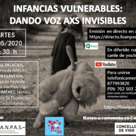Webinar. Infancias vulnerables: dando voz axs invisibles.