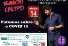 Vídeo do Webinar de Ignacio Crespo sobre o COVID-19