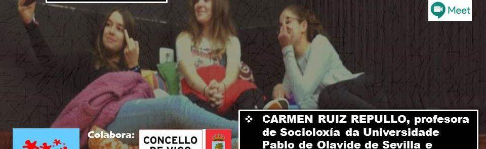Vídeo do webinar de Carmen Ruíz: #REBOBINA a historía de Pepa e Pepe.