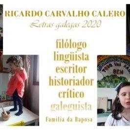 Día das Letras Galegas. Video homenaxe a Ricardo Carvalho Calero.
