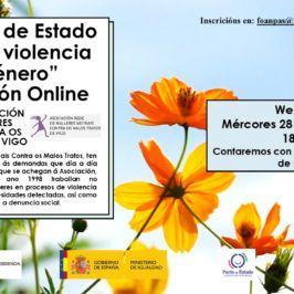 Webinar: O PACTO DE ESTADO CONTRA A VIOLENCIA DE XÉNERO