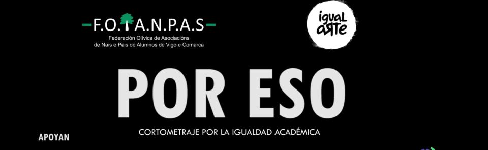 """""""Por ESO"""" unha curtametraxe sobre igualdade e inclusión"""
