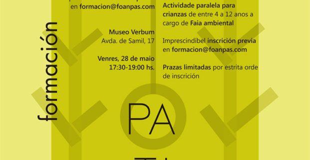 ACTIVIDADE FORMATIVA PATIOS VIVOS